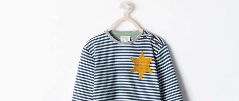 nazi skandal bei zara kinder shirt sieht aus wie kz jacke. Black Bedroom Furniture Sets. Home Design Ideas