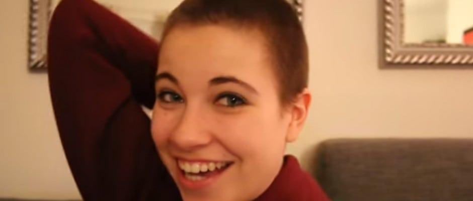 Fast Glatze Melina Sophie Hat Sich Die Haare Abschneiden Lassen