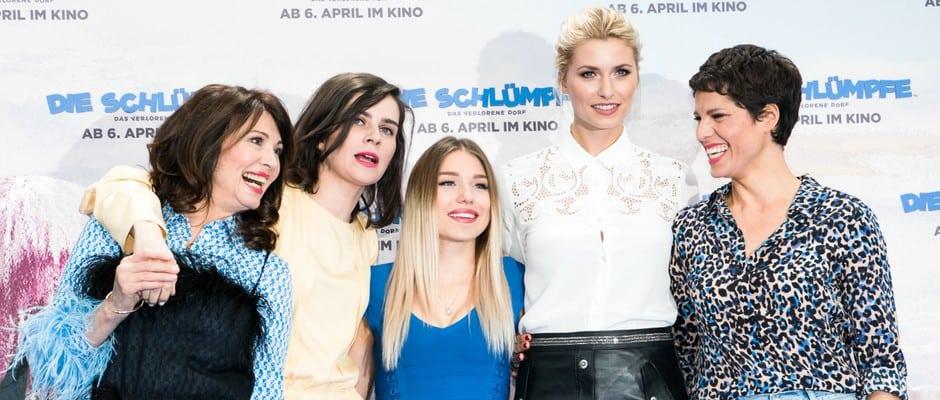 Die Schlümpfe Bibisbeautypalace Und Sami Slimani Feiern Premiere