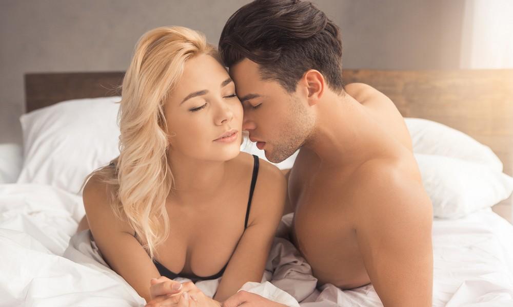 Ein Paar beim Sex