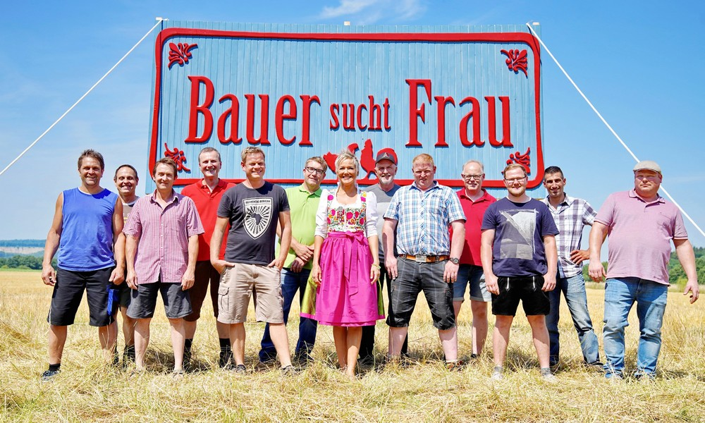 """Die Kandidaten bei """"Bauer sucht Frau"""""""