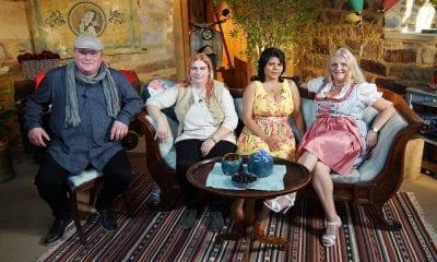 BsF-Guy mit seinen drei Damen