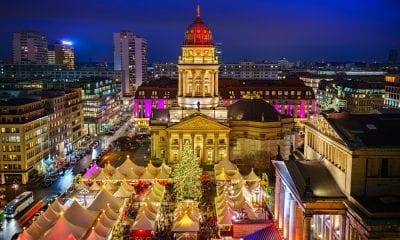 Der Weihnachtsmarkt am Berliner Gendarmenmarkt