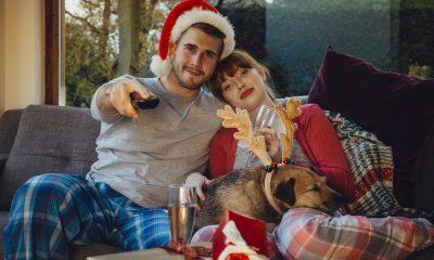 Weihnachten vor dem Fernseher
