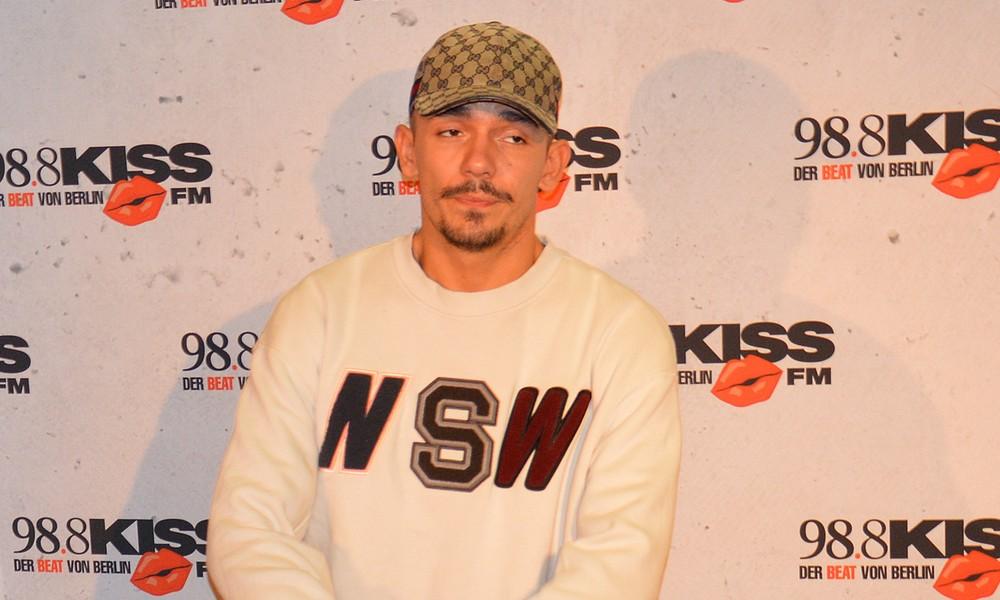 Rapper Capital Bra beim KISS CUP