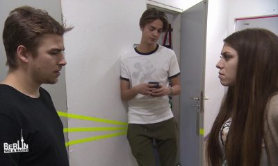 Pascal, Nik und Kim bei BTN