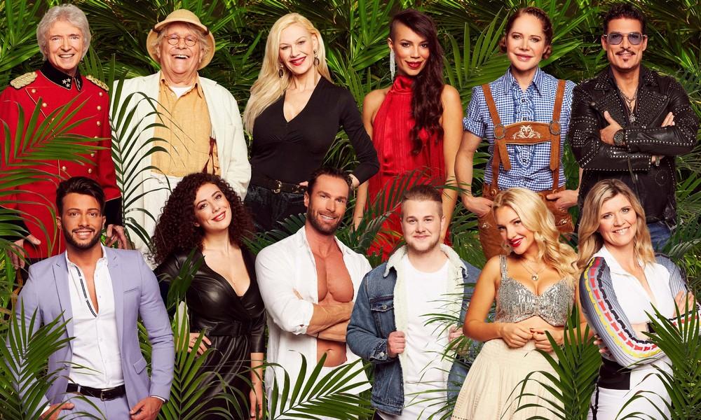 Die 12 Kandidaten aus dem Dschungelcamp