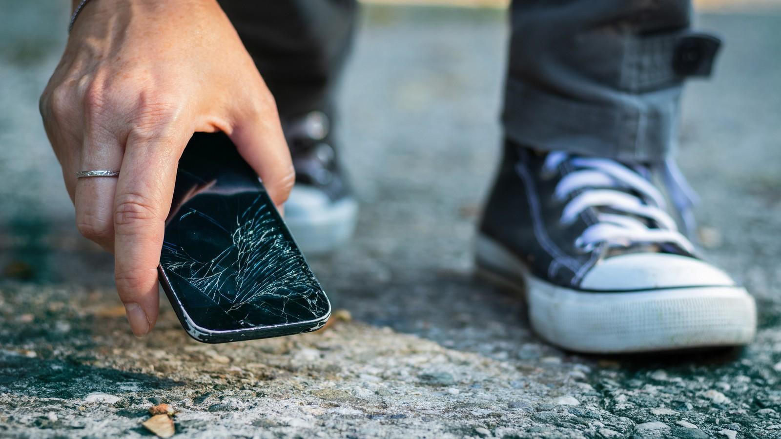 Smartphone kaputt
