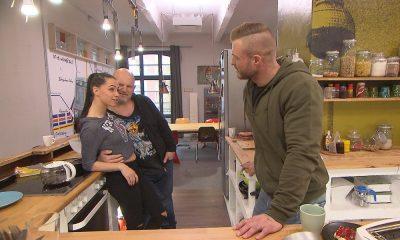 "Joe, Laura und Robert bei ""Berlin - Tag & Nacht"""