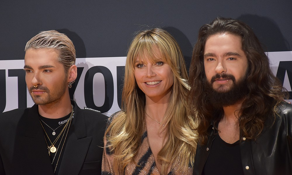 Heidi Klum, Tom und Bill Kaulitz