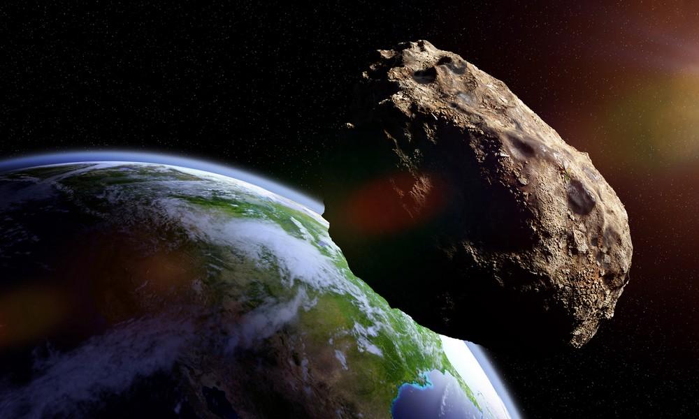 Mega-Asteroid rast an Erde vorbei