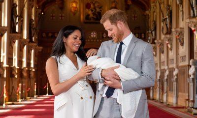 Meghan Markle und Prinz Harry mit Baby Sussex