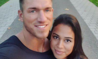 Patrick Fabian und Freundin Lea