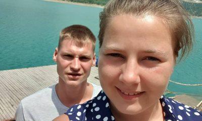 Sarafina Wollny und Peter
