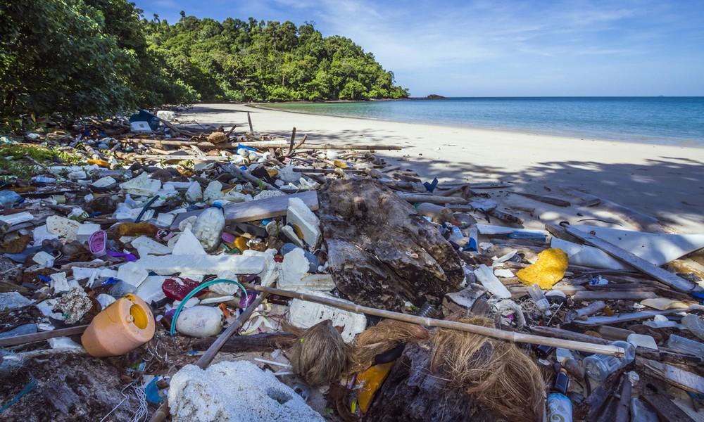 Müll in den Weltmeeren