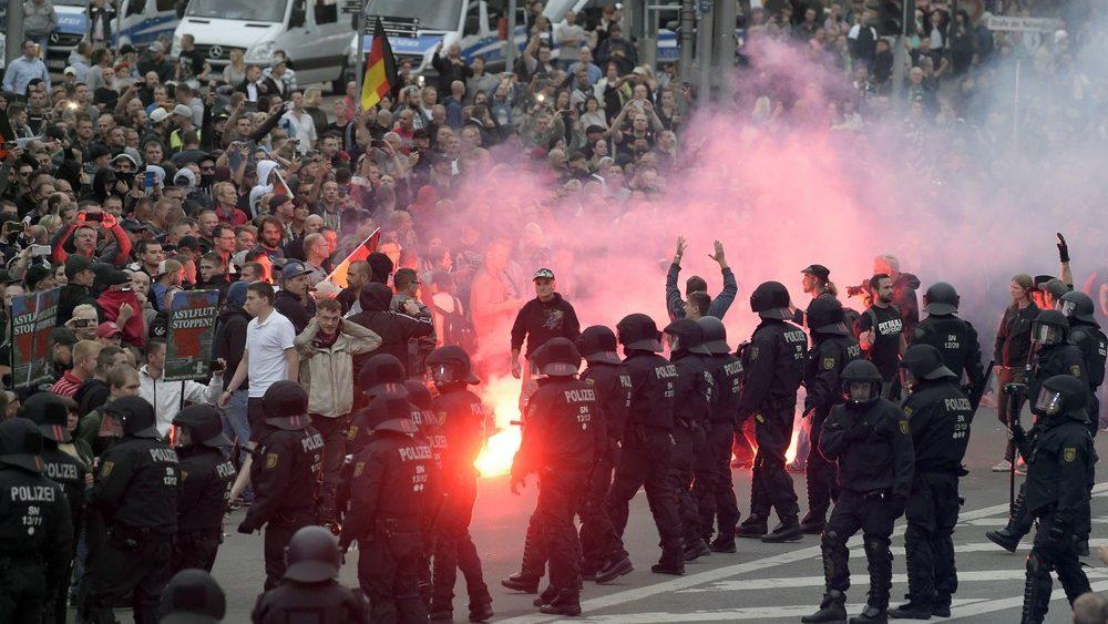 Krawalle Chemnitz