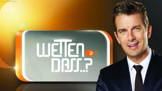 KU 2014 SLIDE TV ZDF Wetten dass 1 BILD ZDF Alexander Babic Brand New Media