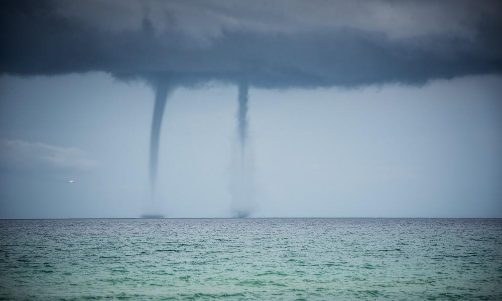 Unwetter-Chaos: Doppel-Tornado fegt über Mallorca!