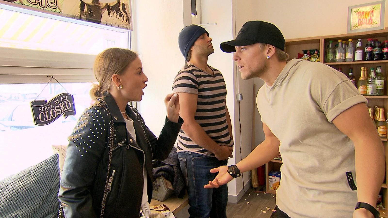 Dana und Kevin bei