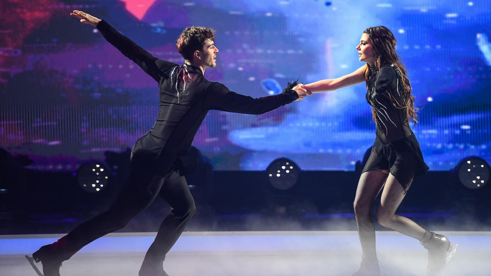 Klaudia mit K mit Tanzpartner Sevan Lerche