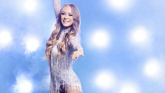 "Jenny Elvers bei ""Dancing on Ice"""