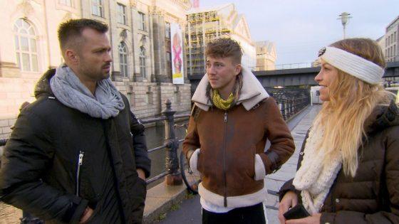 Mike, Connor und Anke bei BTN