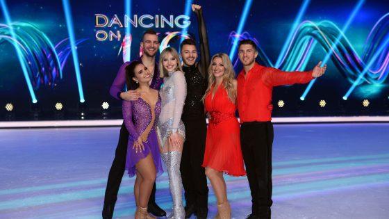"""Die Finalisten von """"Dancing on Ice"""""""