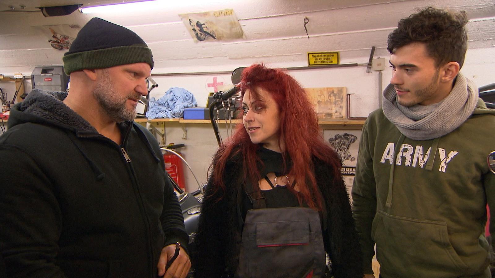 Joe, Denny und Maja