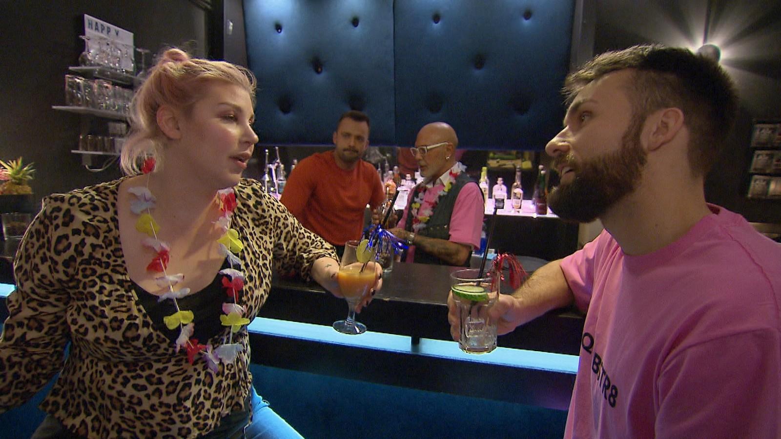 "Paula und Lars bei ""Berlin - Tag & Nacht"""