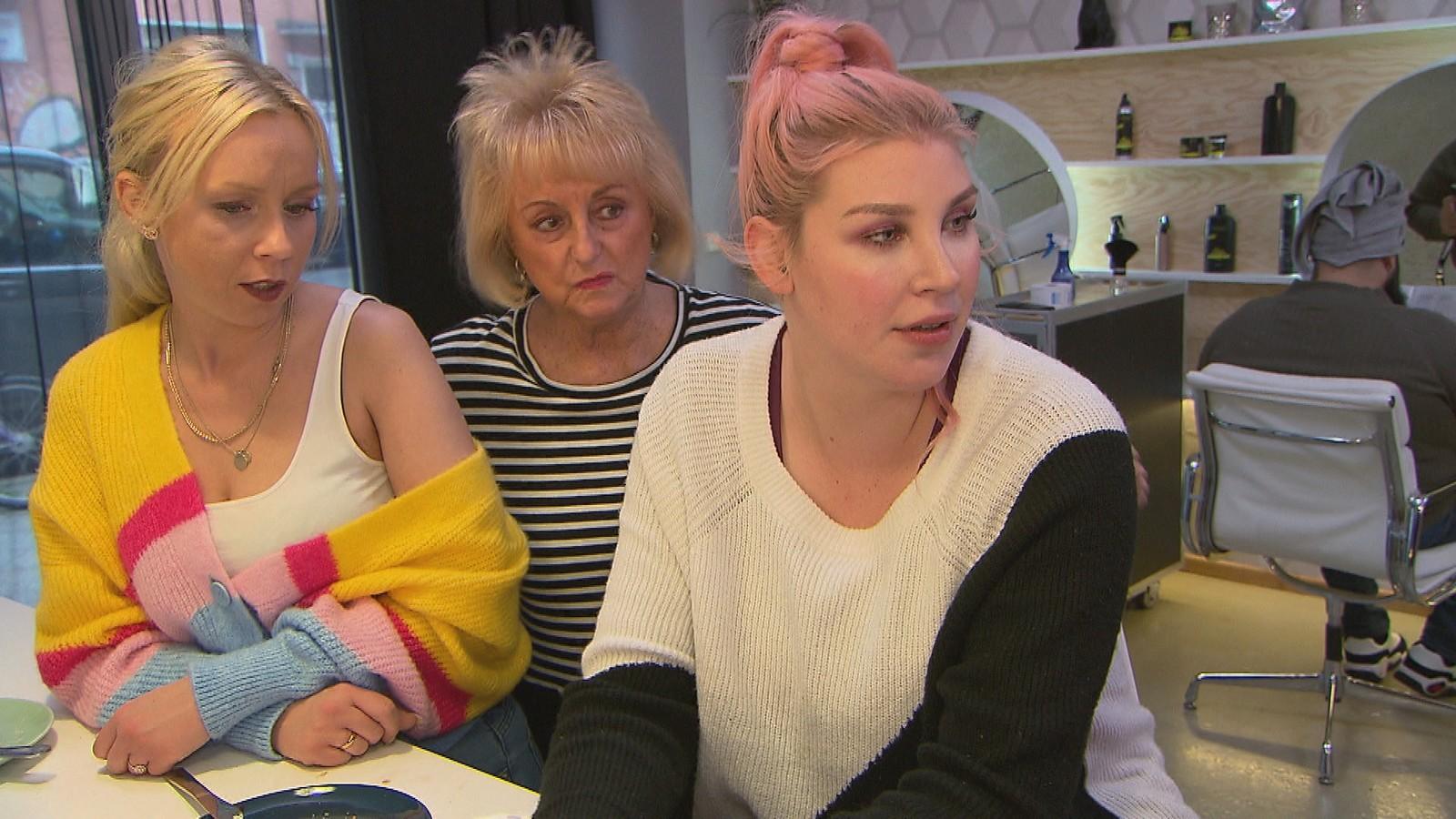 Peggy, Lilo und Paula bei BTN
