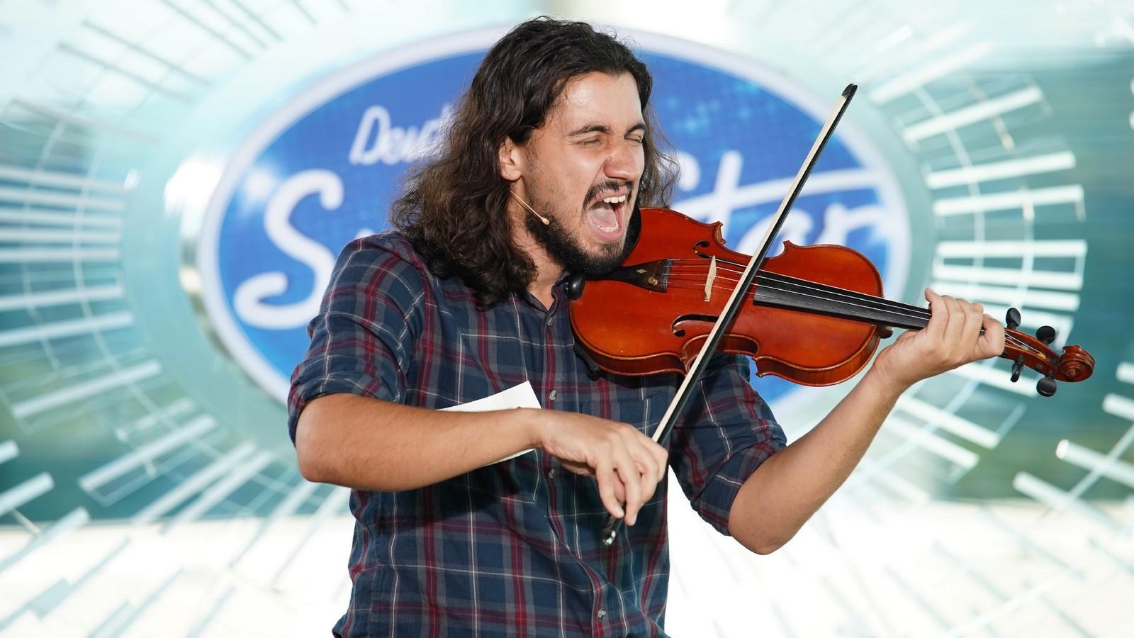 Omid Salehifar bei DSDS 2020