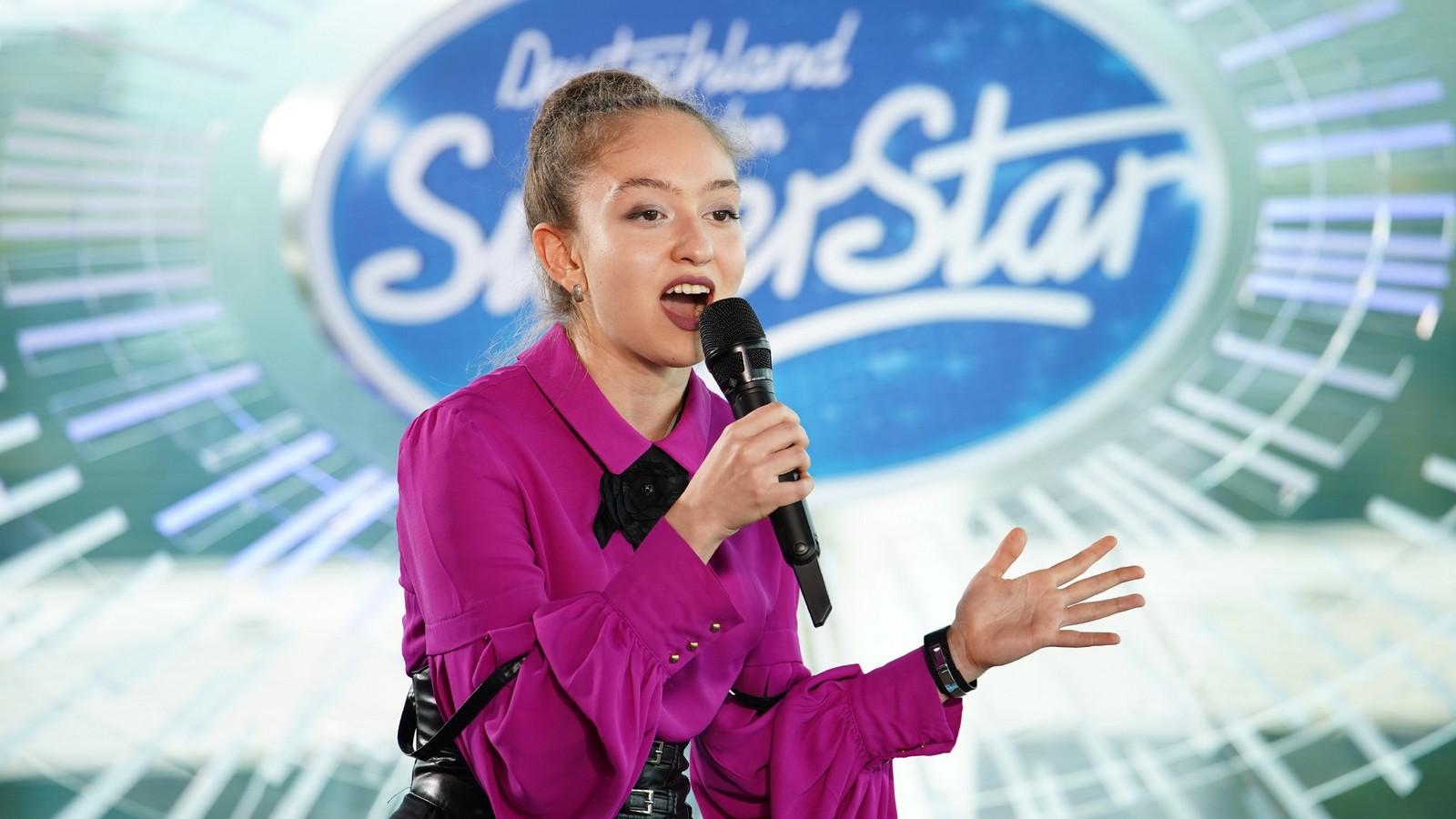 Elena Abdullaeva bei DSDS