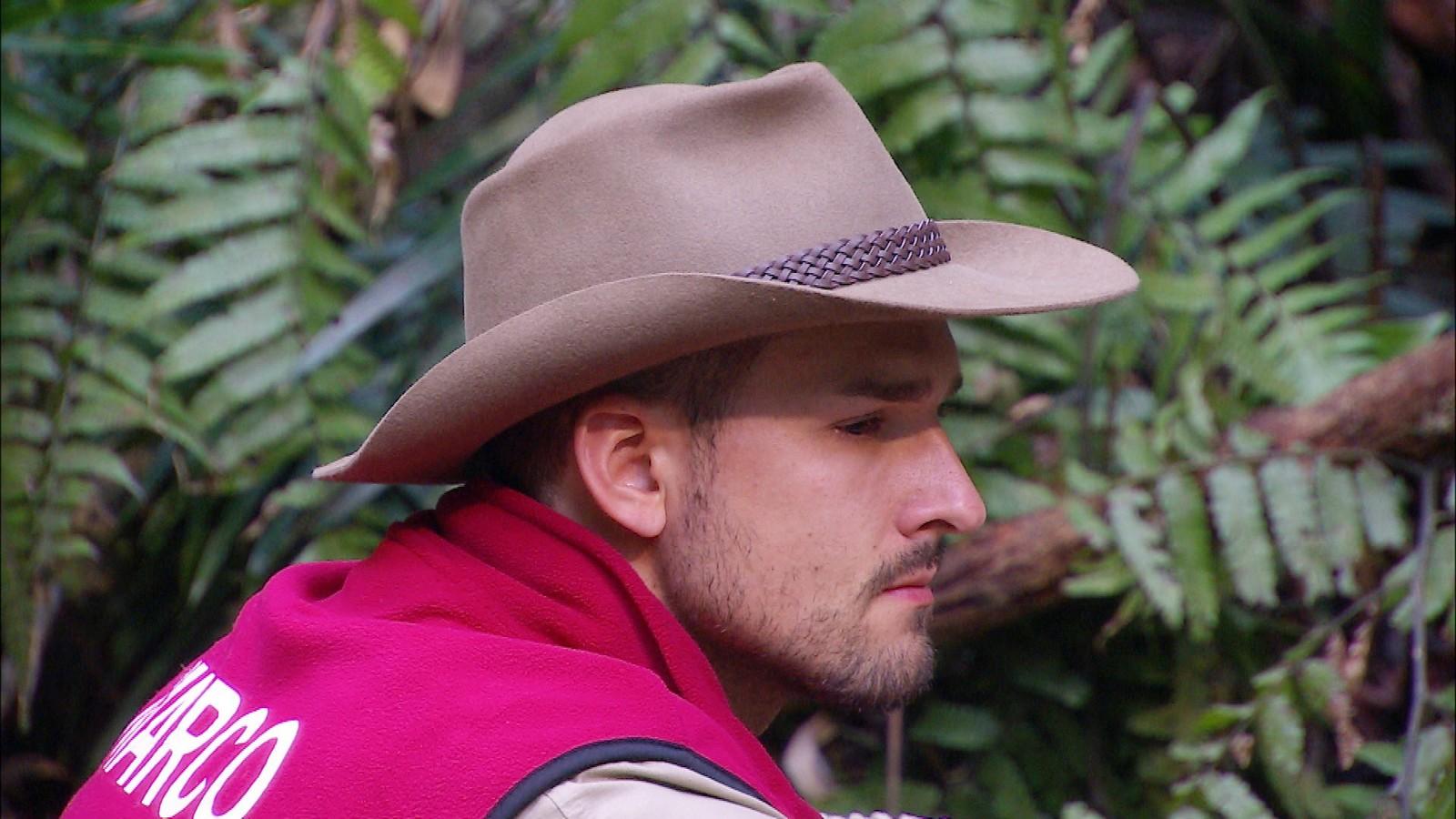 Marco Cerullo im Dschungelcamp