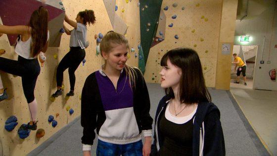 Toni und Lara bei BTN