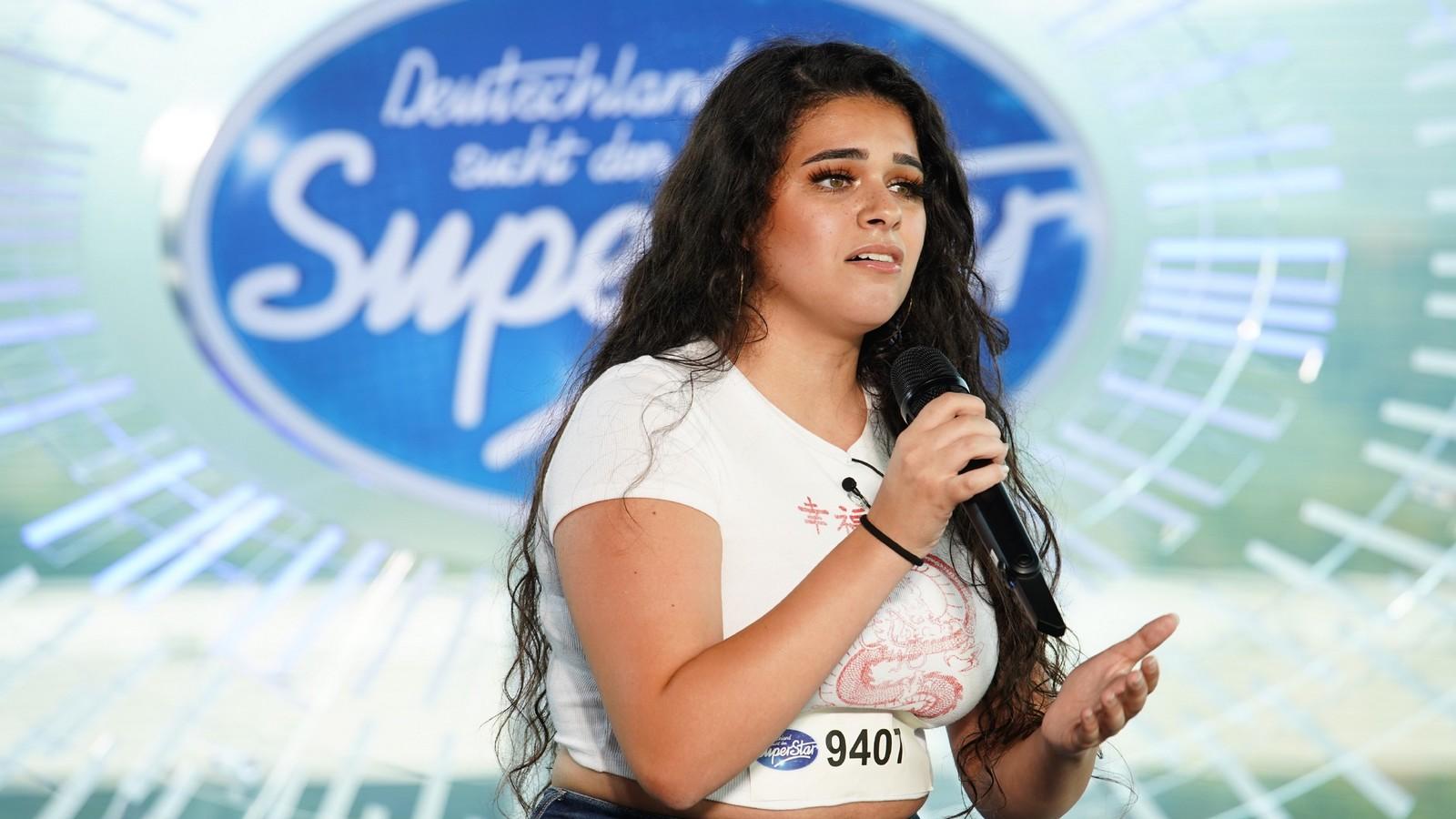 DSDS-Kandidatin Camelia Bagherian