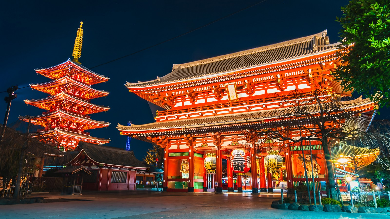 Sensoji-Tempel in Tokio