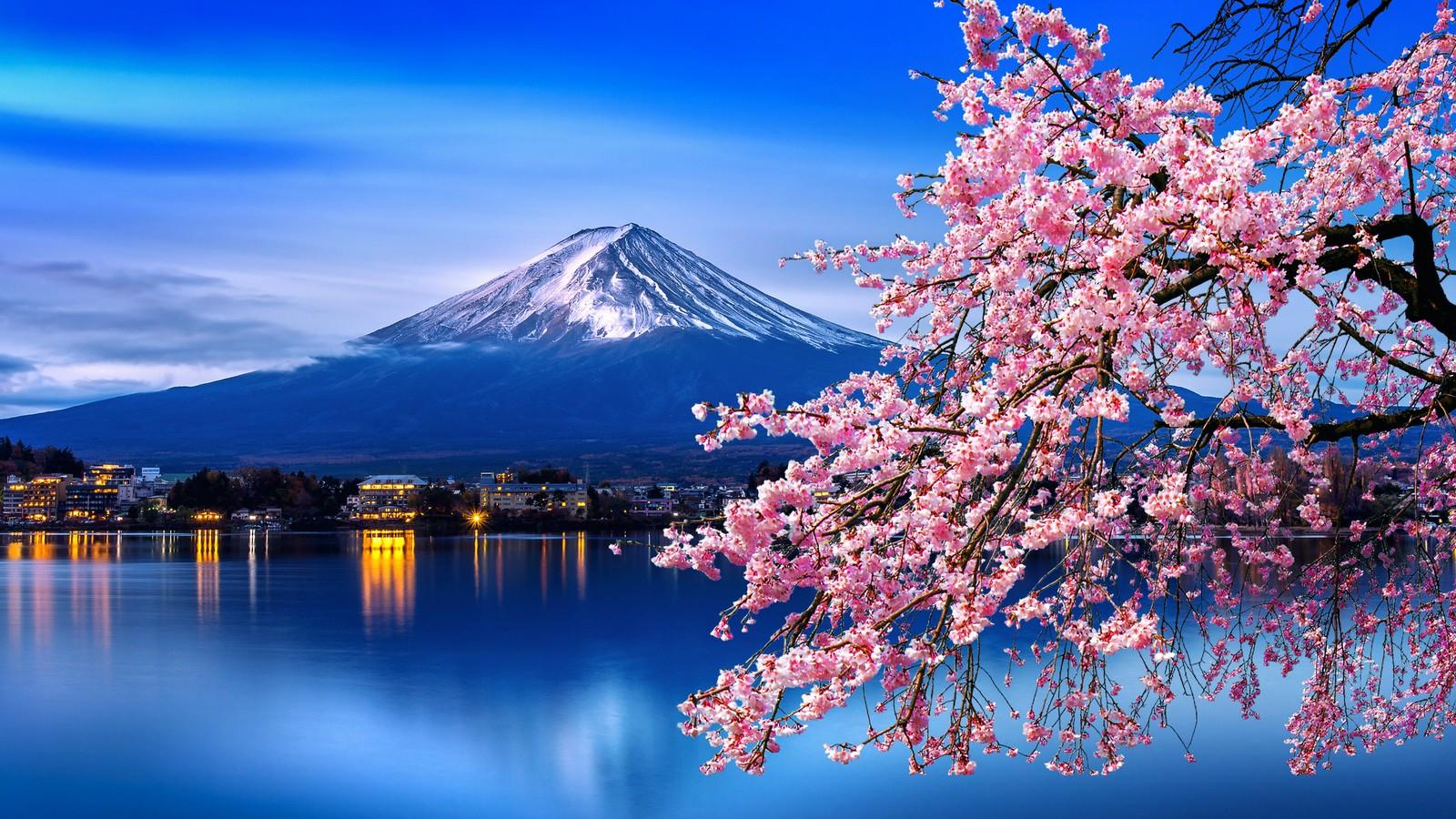 Fuji Berg in Japan