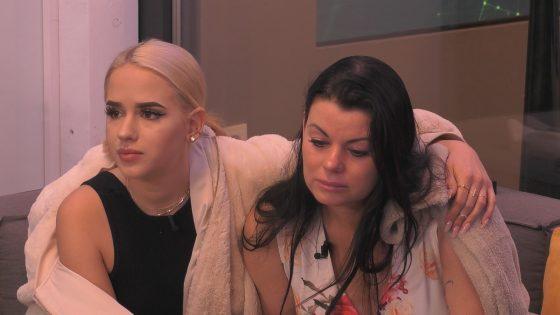Gina und Cathleen bei