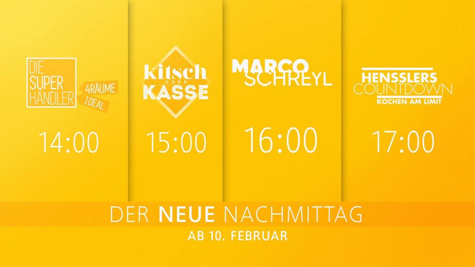 Neue Daytime bei RTL