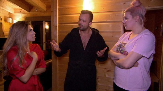 Kim, Mike und Paula bei BTN