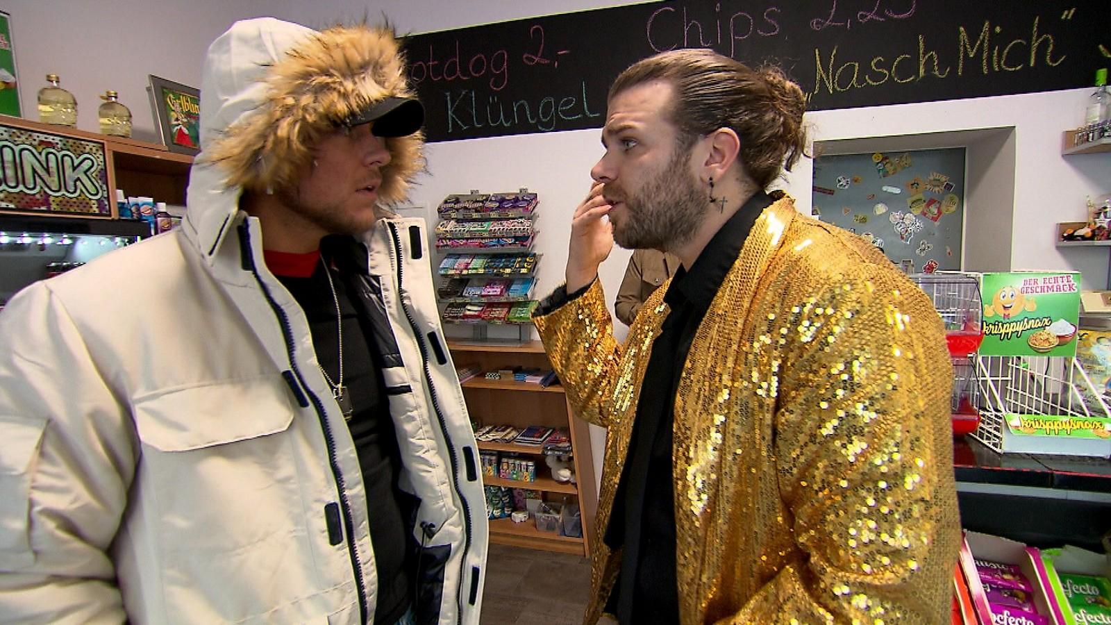 Kevin und Olli bei