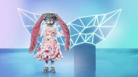 "Kostüm Hase bei ""The Masked Singer"""