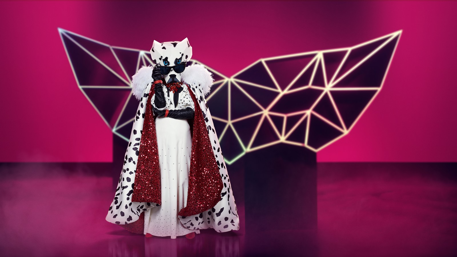 "Dalmatiner bei ""The Masked Singer"""