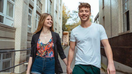 """Toni und Connor bei """"Berlin - Tag & Nacht"""""""