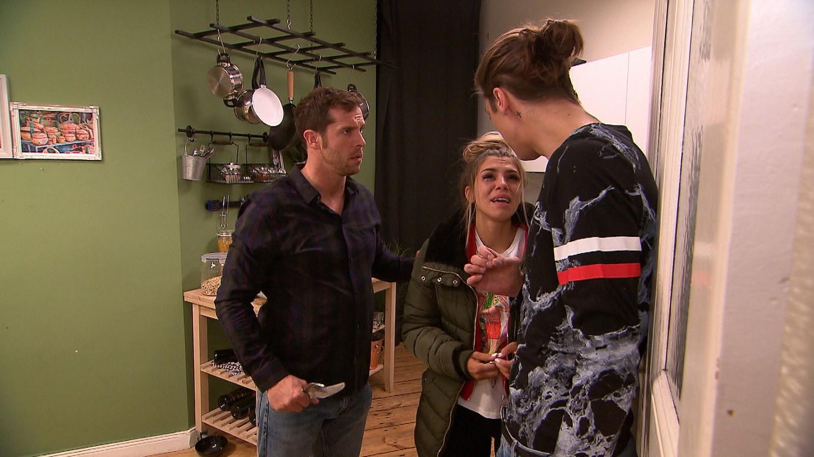 Basti, Kim und Nik bei