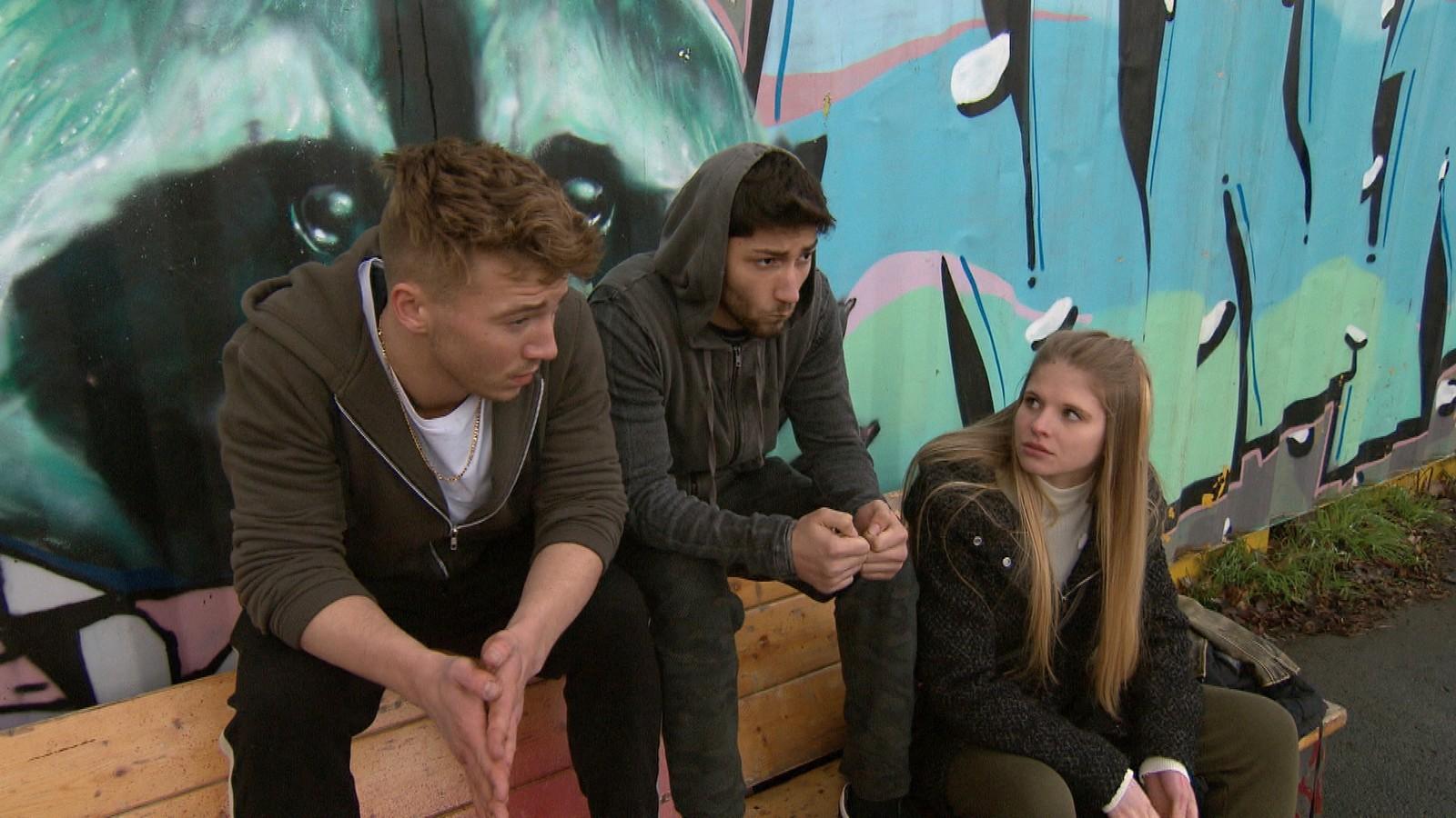 Connor, Dean und Toni bei
