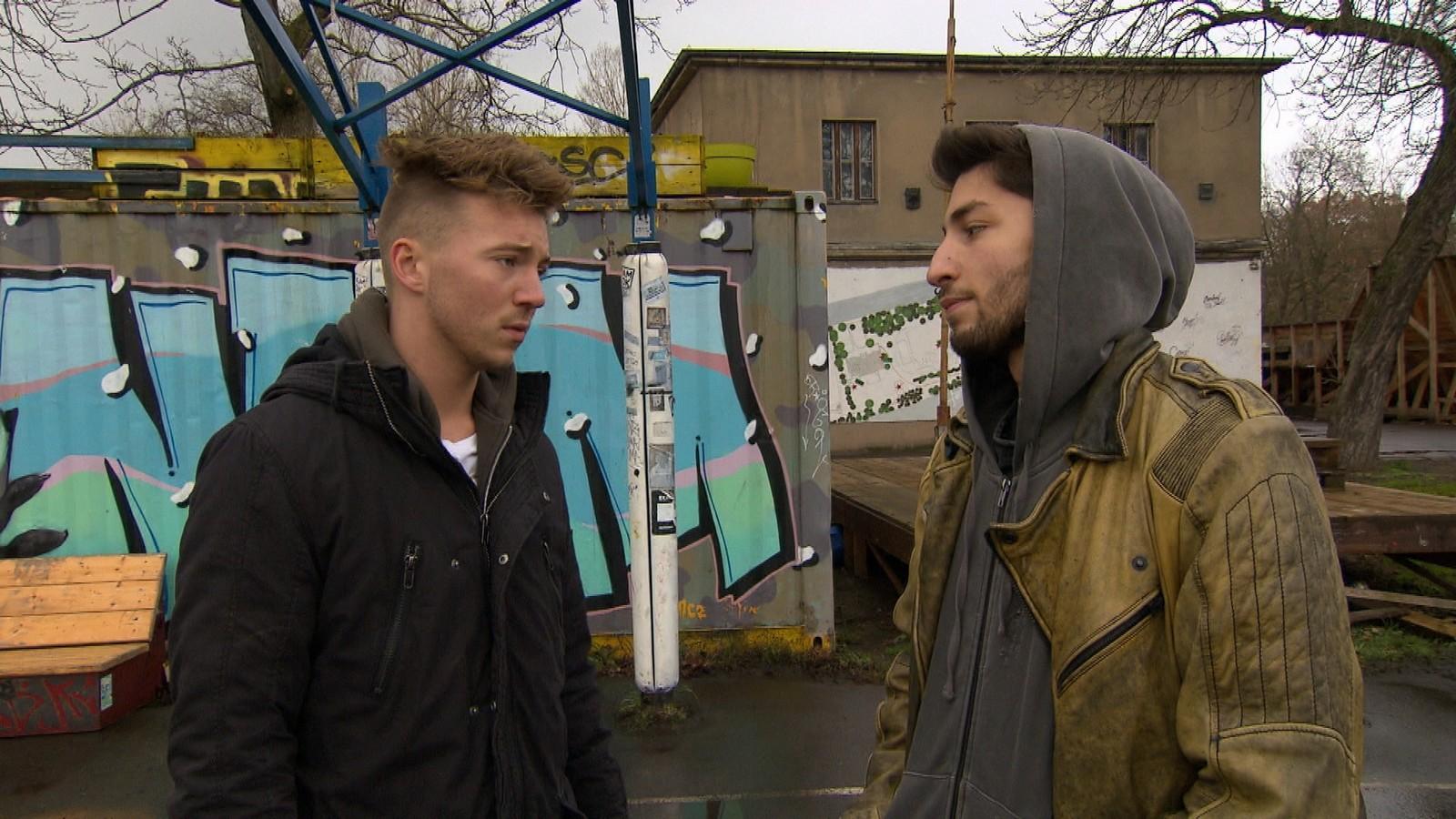 Connor und Dean bei