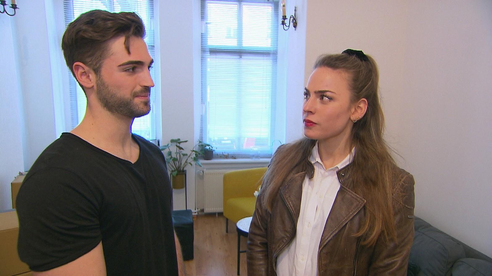 """Lukasz und Vivi bei """"Berlin - Tag & Nacht"""""""