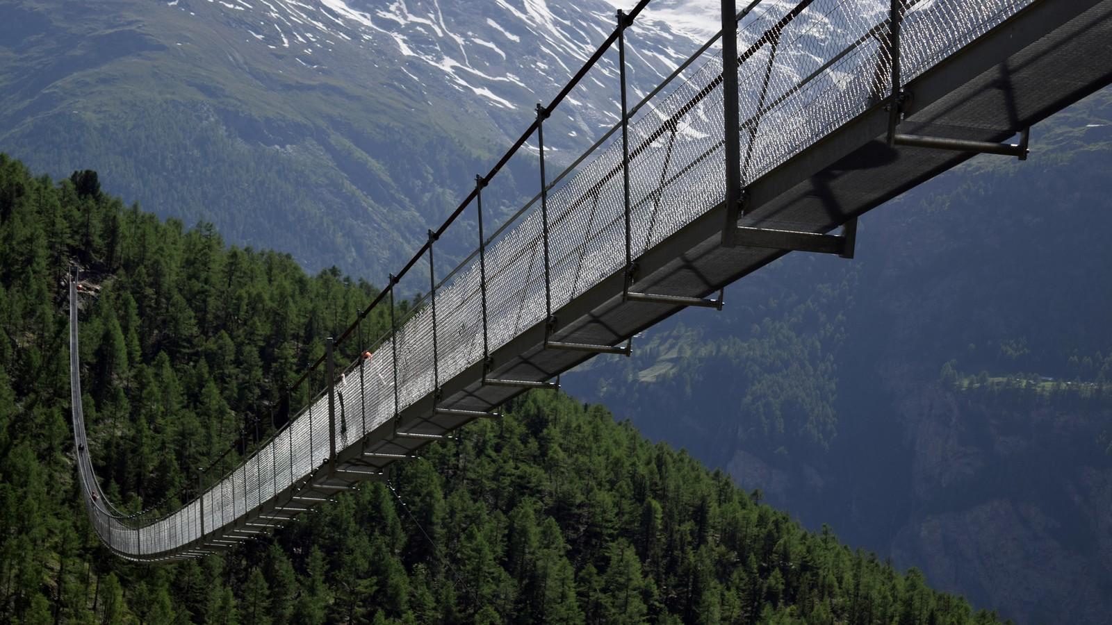 Charles Kuonen Hängebrücke