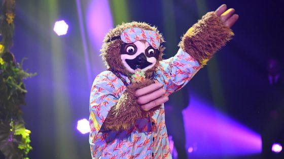 "Das Faultier bei ""The Masked Singer"""
